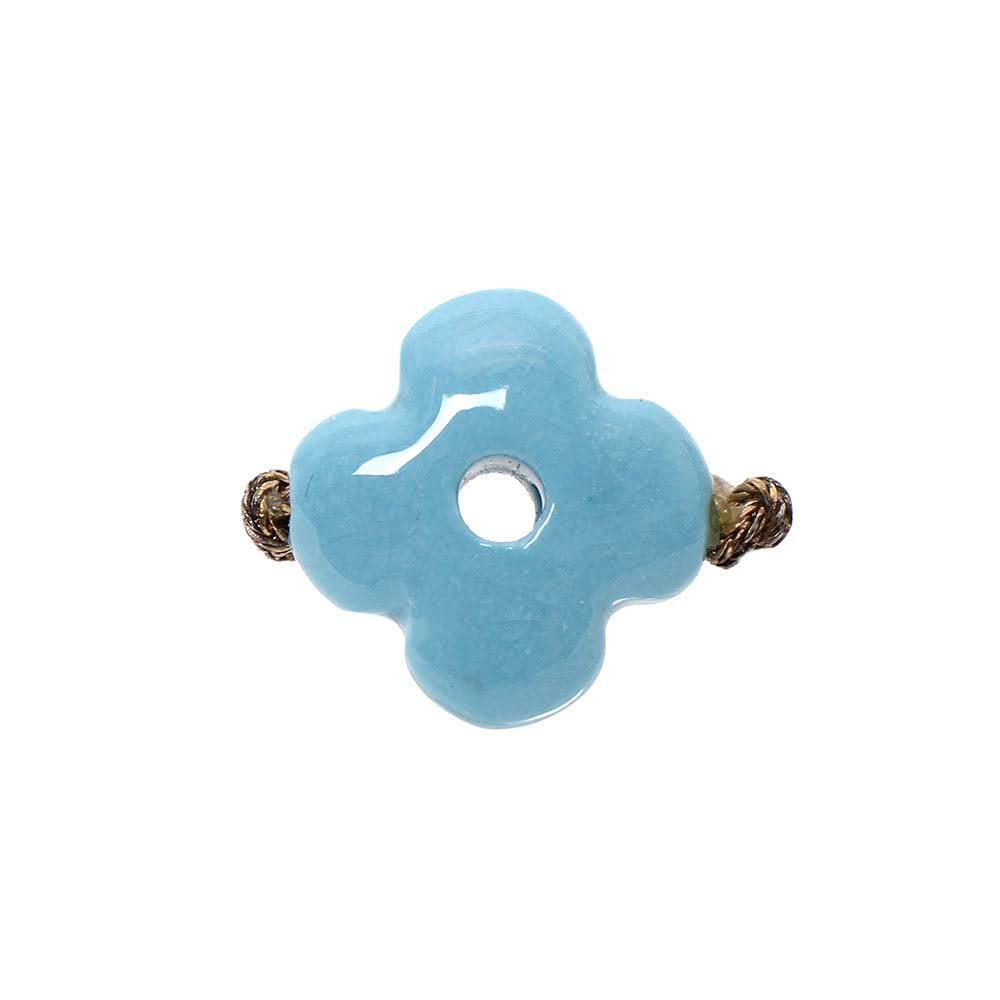 Louis Vuitton Size 5.5 Blue Enamel Ring