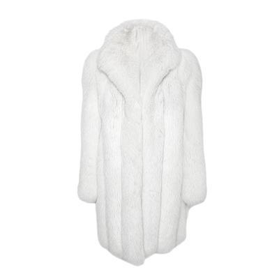 Christian Dior Size Medium White Fox Fur