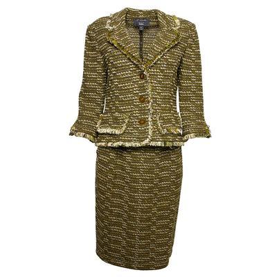 St. John Size 2 Two-Piece Suit & Skirt
