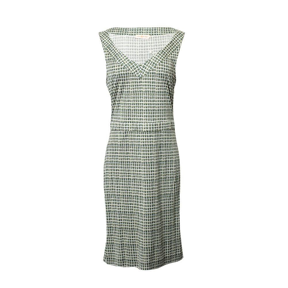 Tory Burch Size Medium Green Print Dress
