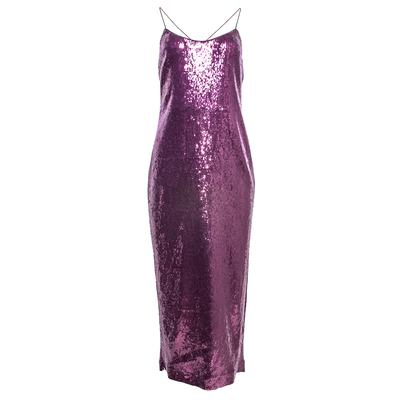Rachel Zoe Size 6 Purple Sequin Dress