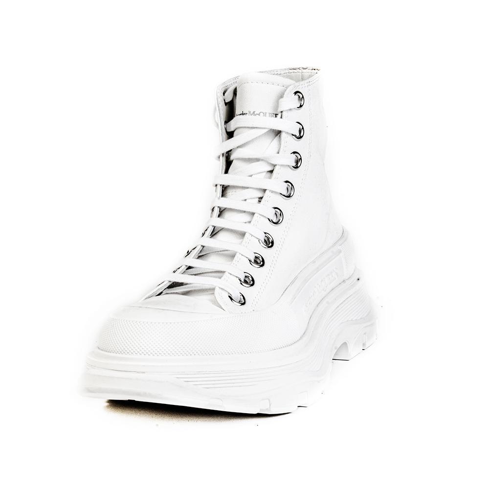 Alexander Mcqueen Size 36 White Platforms Shoes