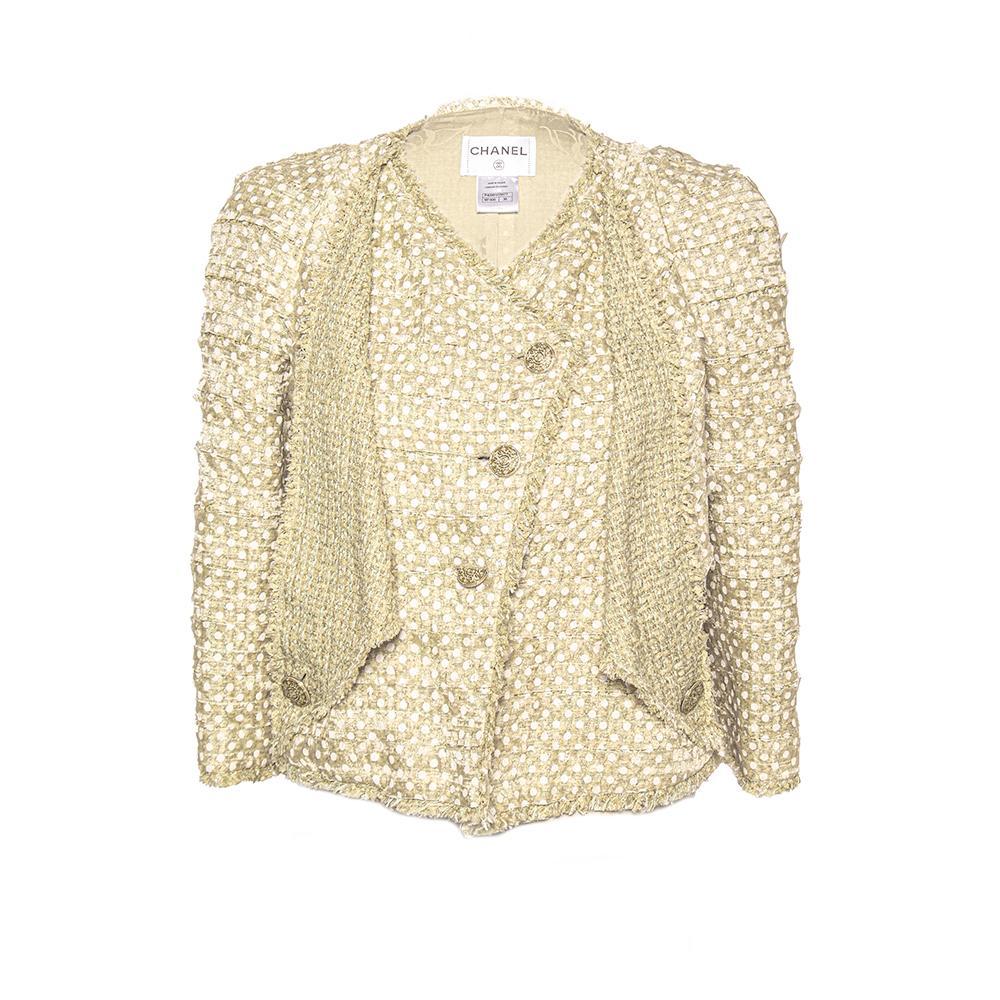 Chanel Size 36 Mint Green Jacket