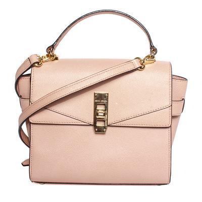 Henri Bendel Pink Leather Crossbody Bag