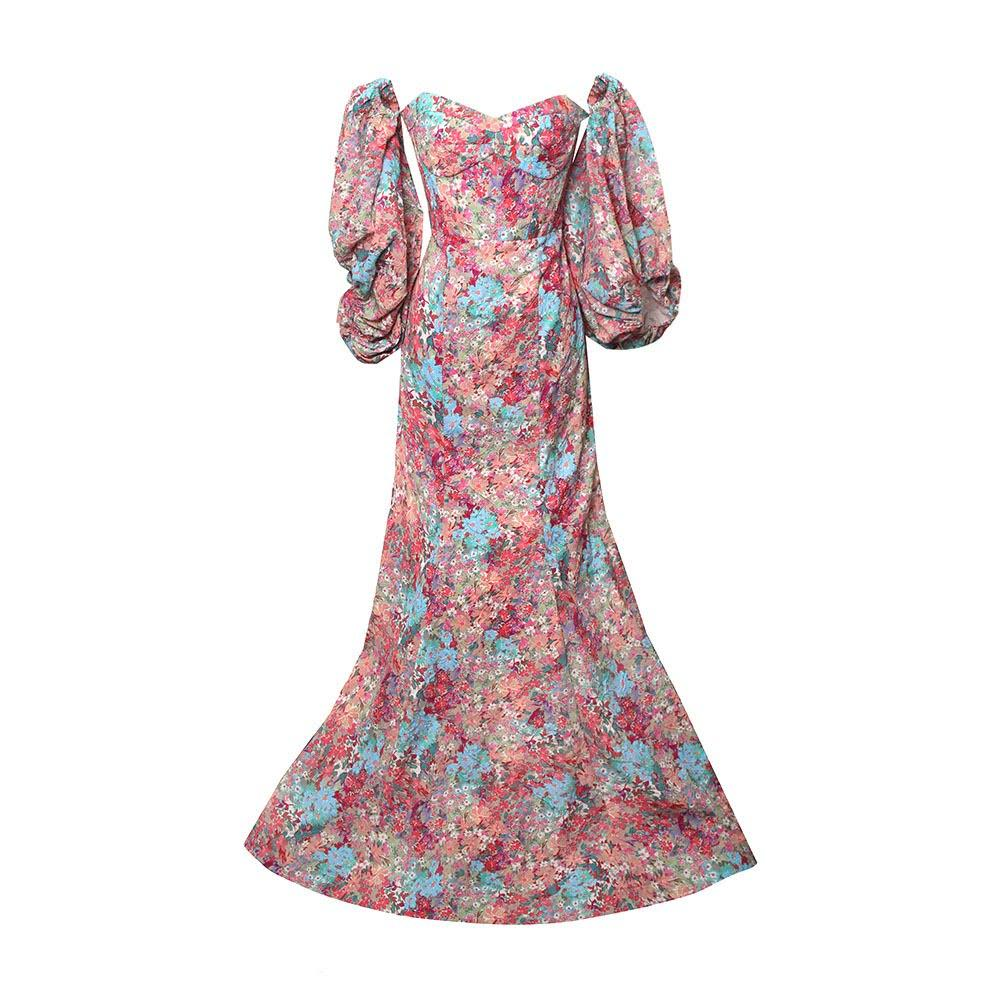 Prabal Gurung Size 8 Medium Floral Gown