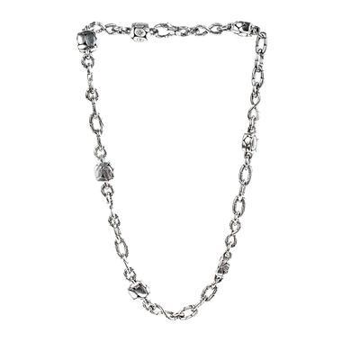 John Hardy Silver Dot Chain Necklace