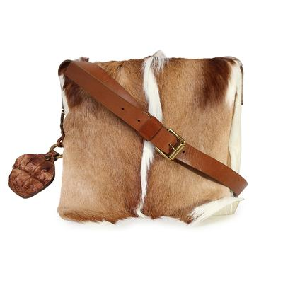 Michael Kors Pony Hair Crossbody Messenger Bag