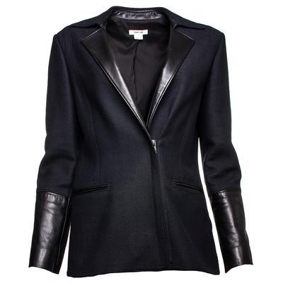 Helmut Lang Size 8 Black Coat