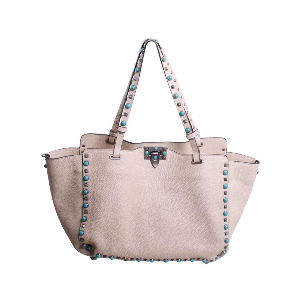 Valentino Stud Tote Bag