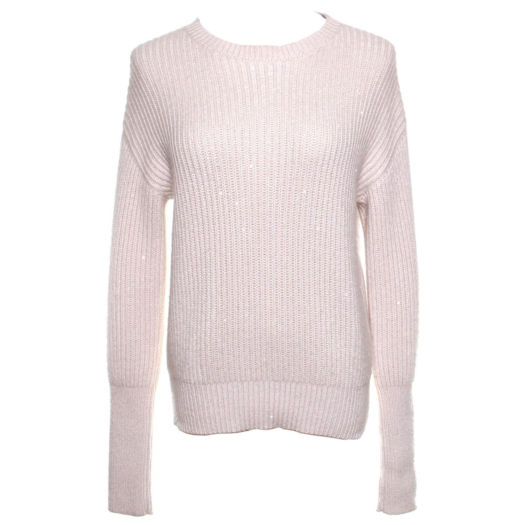 Brunello Cucinelli Large Knit Cashmere Sweater
