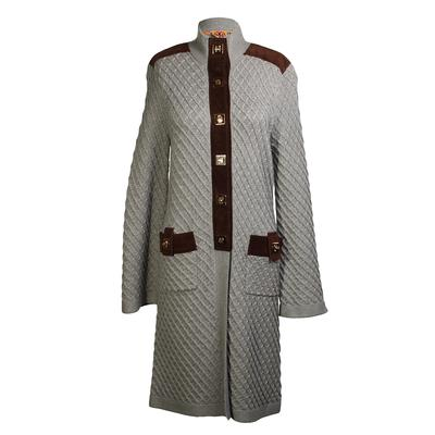 Tory Burch Size XS Longline Wool Sweater