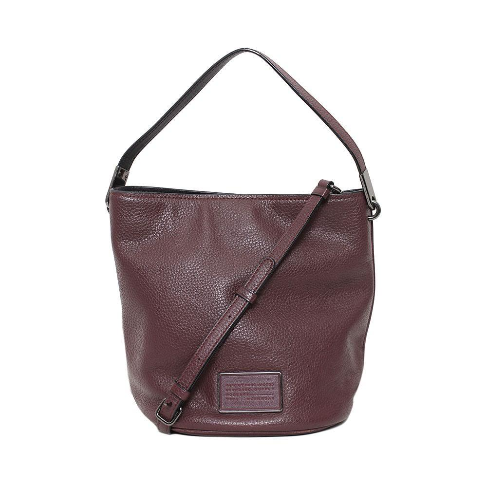 Marc By Marc Jacobs Maroon Bucket Bag