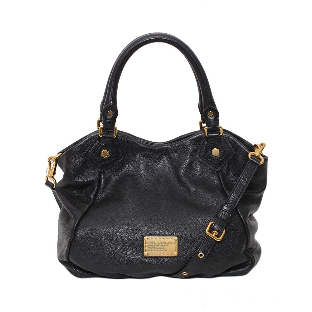 Marc Jacobs Black Leather Bag