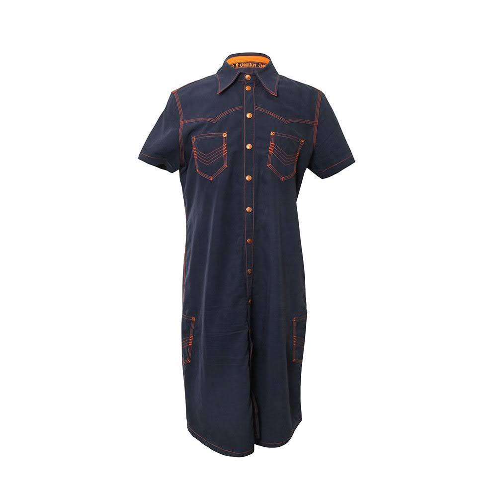 Jean Paul Gaultier Size Small Navy Dress