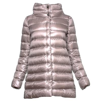 Herno Iconico One Size Tan Aminta Down Jacket