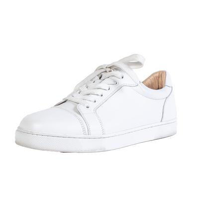 Christian Louboutin Size 39.5 White Sneaker
