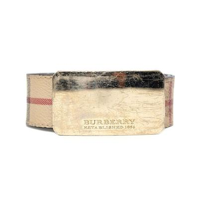Burberry Size 40/100 Novachek Belt