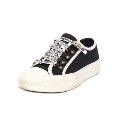 Christian Dior Size 36.5 'Walk 'n' Dior' Sneakers