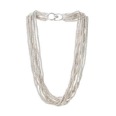 Tiffany + Co Multi-Strand Torsade Bead Necklace