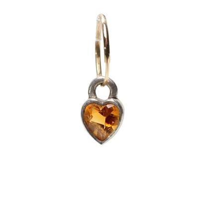 Lee Brevard Tiny Bezel Heart
