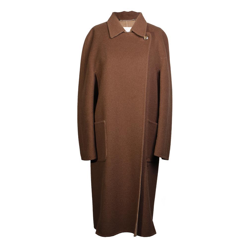 Escada Size 38 Brown Camel Coat