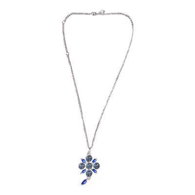 Tagliamonte Lapis & Aqua Necklace