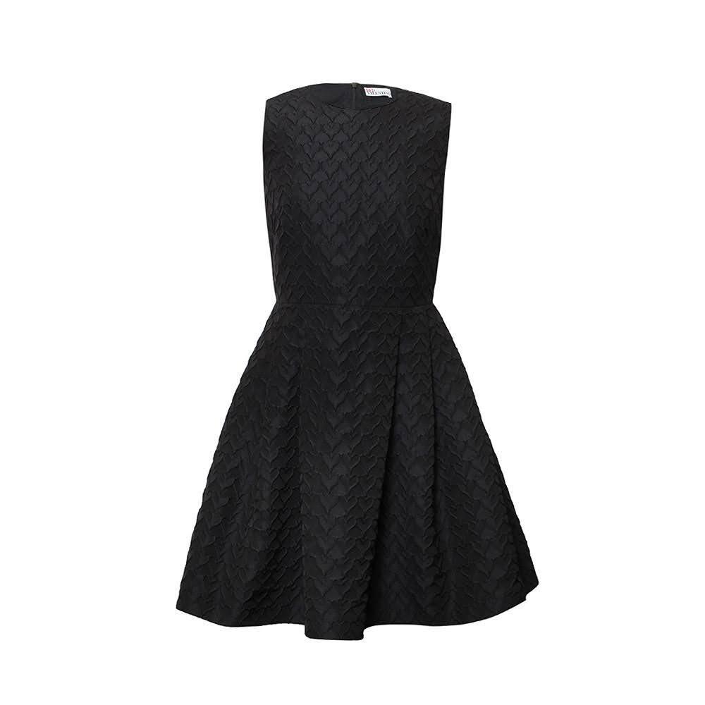 Red Valentino Size Small Black Dress