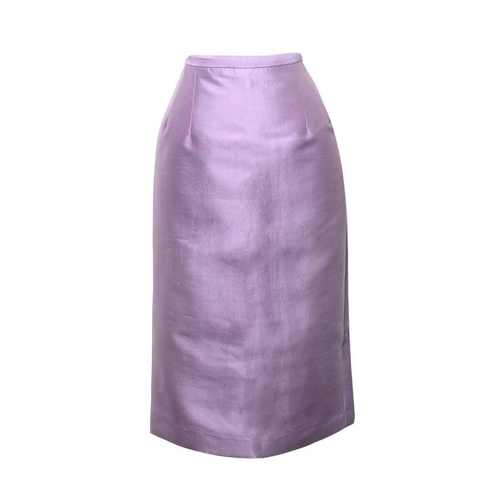 Michael Kors Size 4 S Purple Skirt