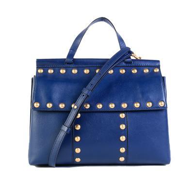 Tory Burch Navy Blue Handbag