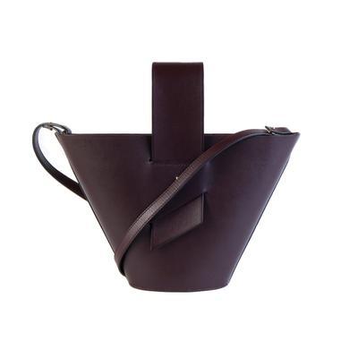Carolina Santo Domingo Burgundy Handbag