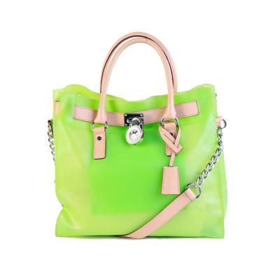 Michael Kors Green Hamilton Handbag