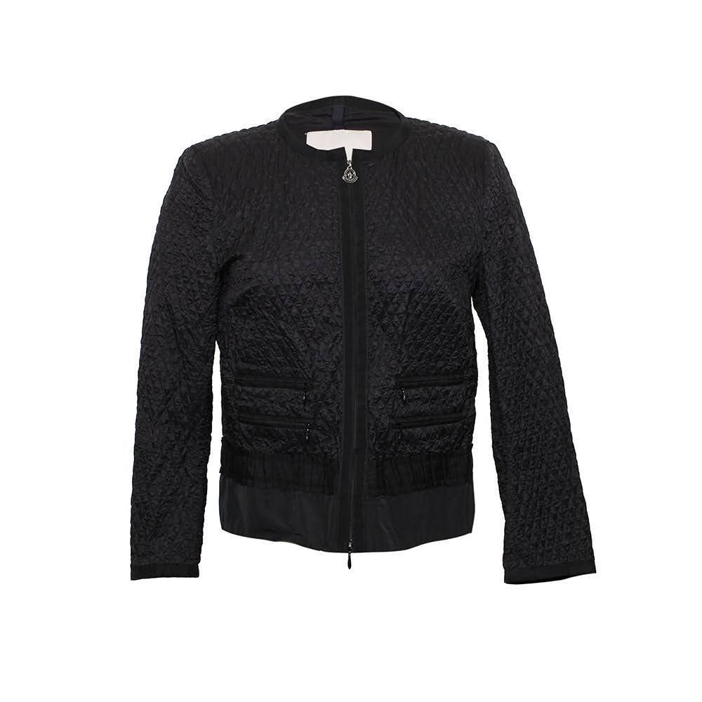 Moncler Size Small Black Jacket