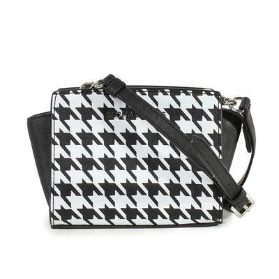 Michael Kors Small Houndstooth Crossbody Bag