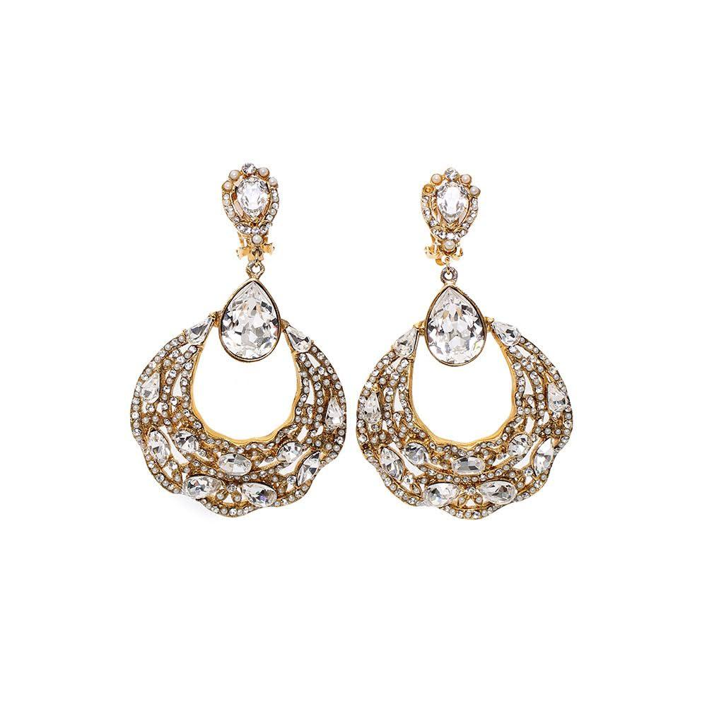 Jose Maria Barrera Gold Earrings