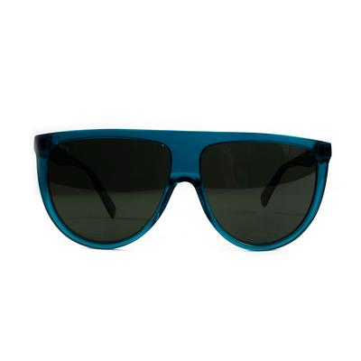 Celine Blue Oversize Frame Sunglasses