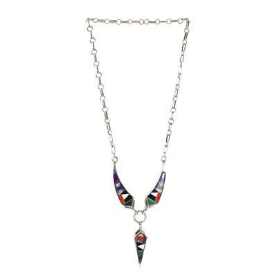 Ray Tafoya Multi Inlay Necklace