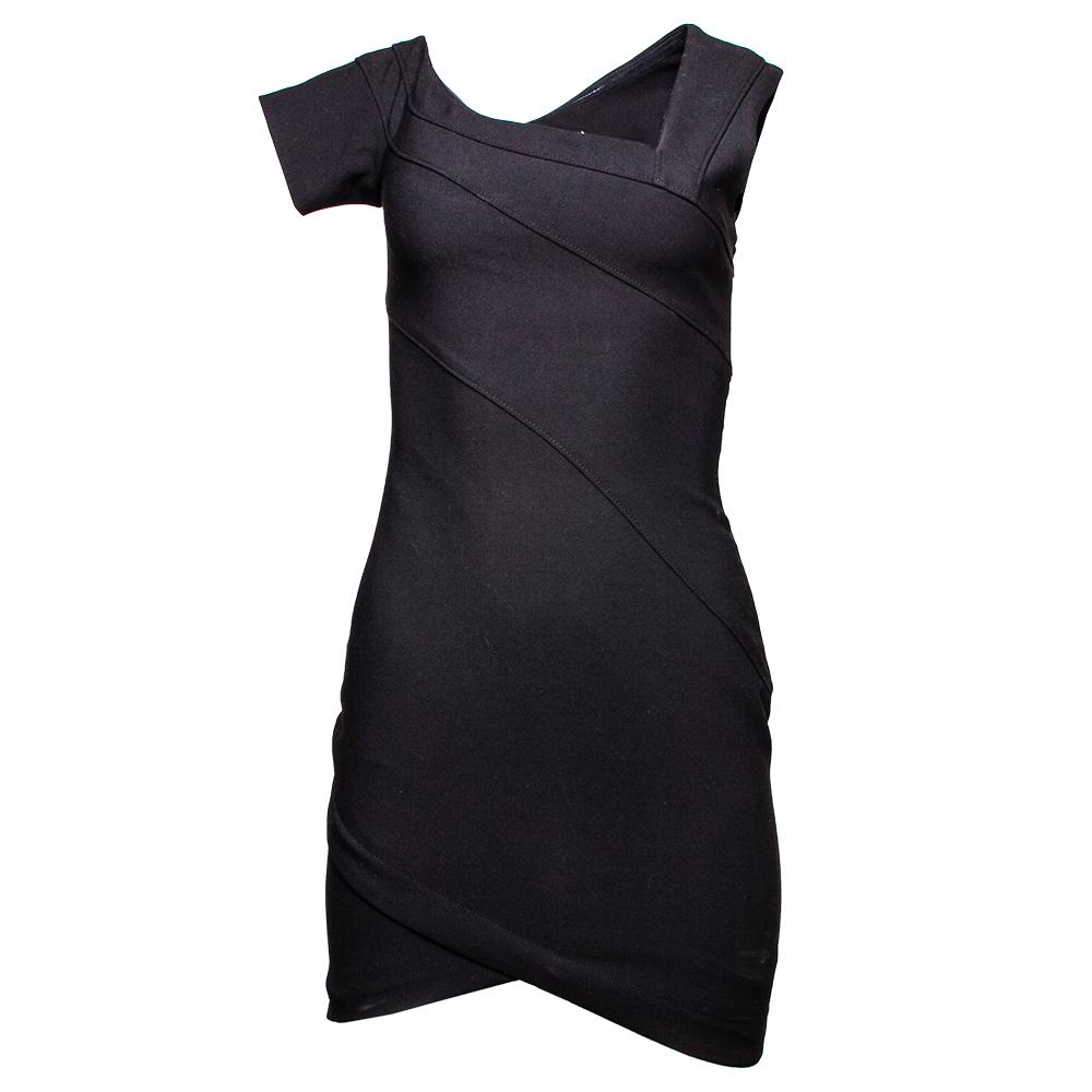 Cinq A Sept Size 0 Black Coralisa Dress