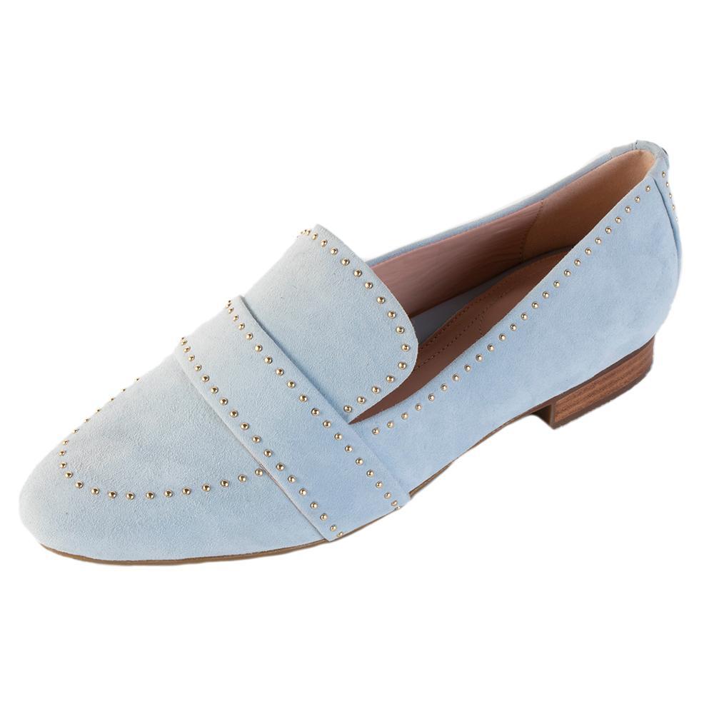 Taryn Rose Size 9 Blue Studded Shoe