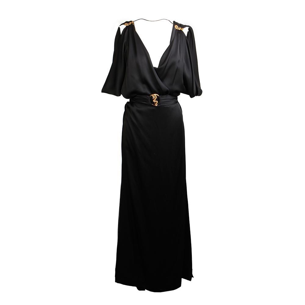 Roberto Cavalli Size 44 Long Evening Dress