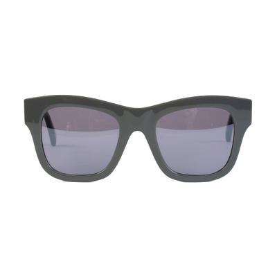 Stella McCartney Silver / Tin Grey Sunglasses