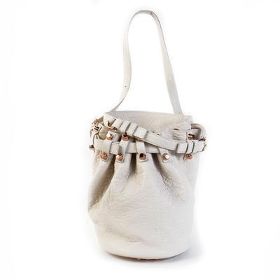 Alexander Wang White Bucket Handbag