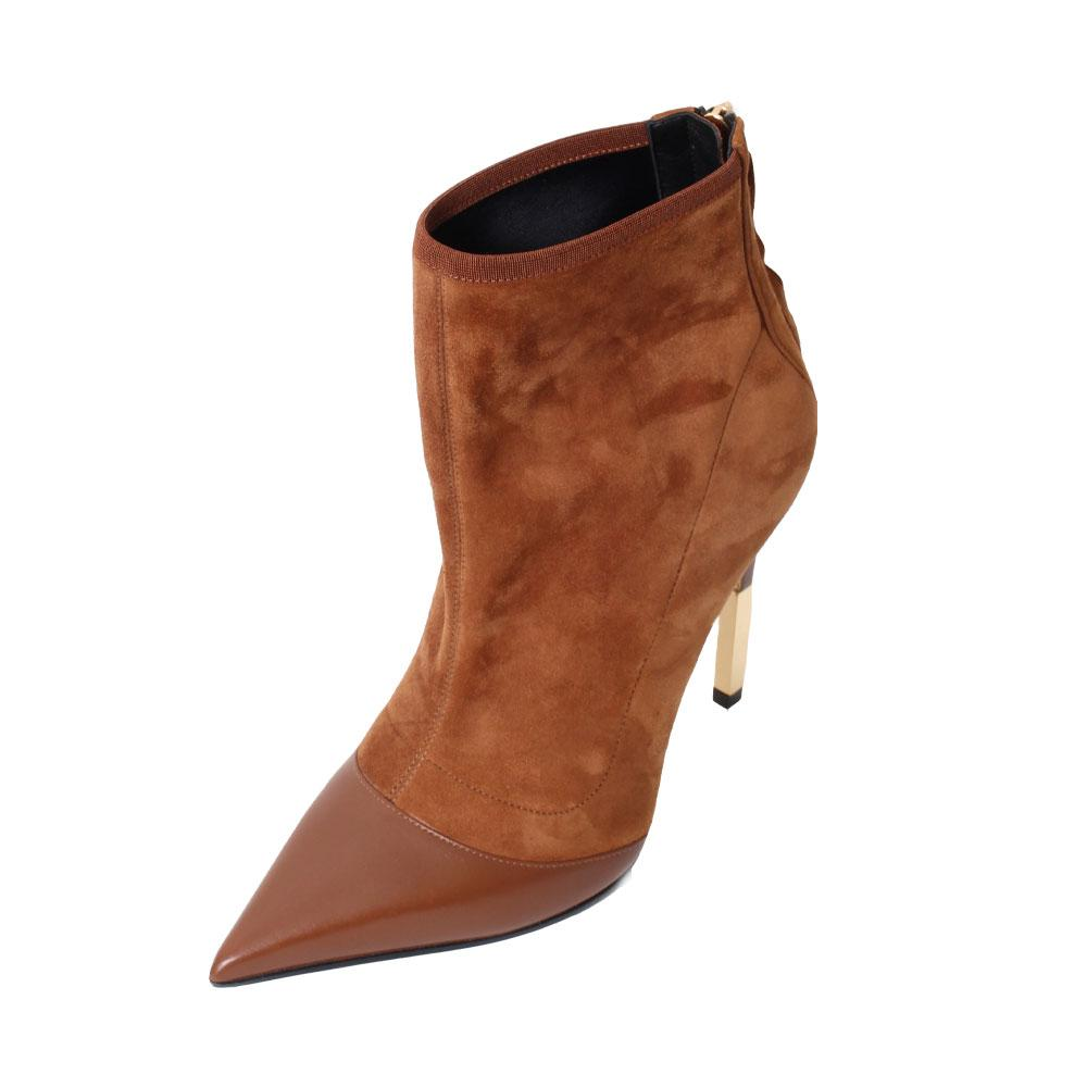 Balmain Size 37 Suede Boots