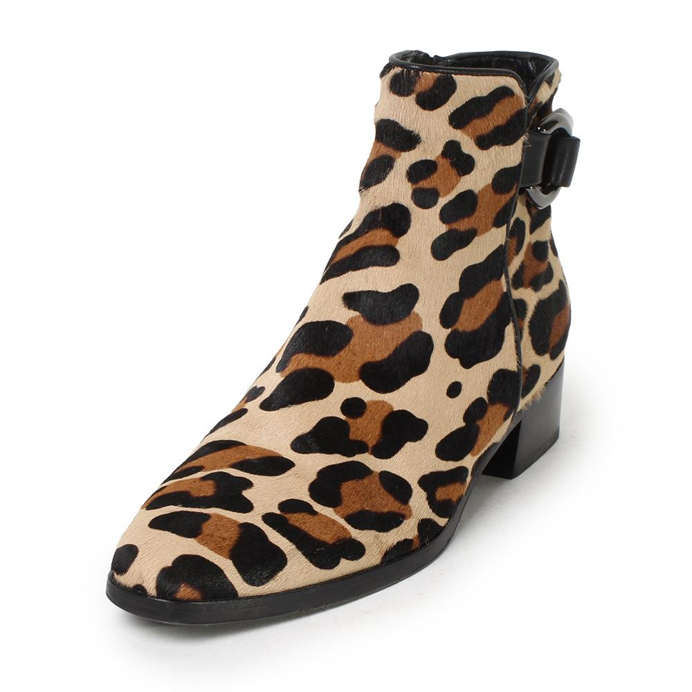 Aquatalia Size 7 Leopard Booties