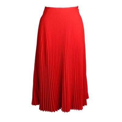 Valentino Pleated Skirt
