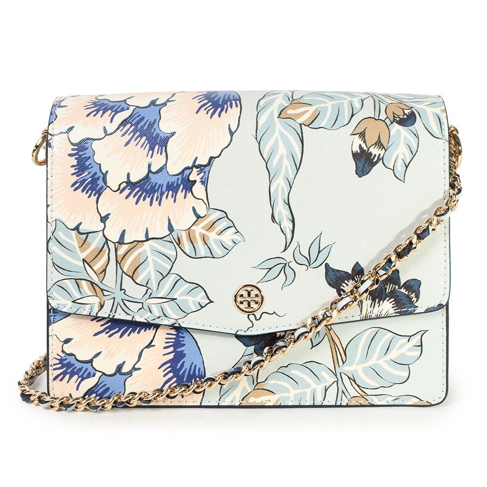 Tory Burch Robinson Floral Convertible Crossbody Bag