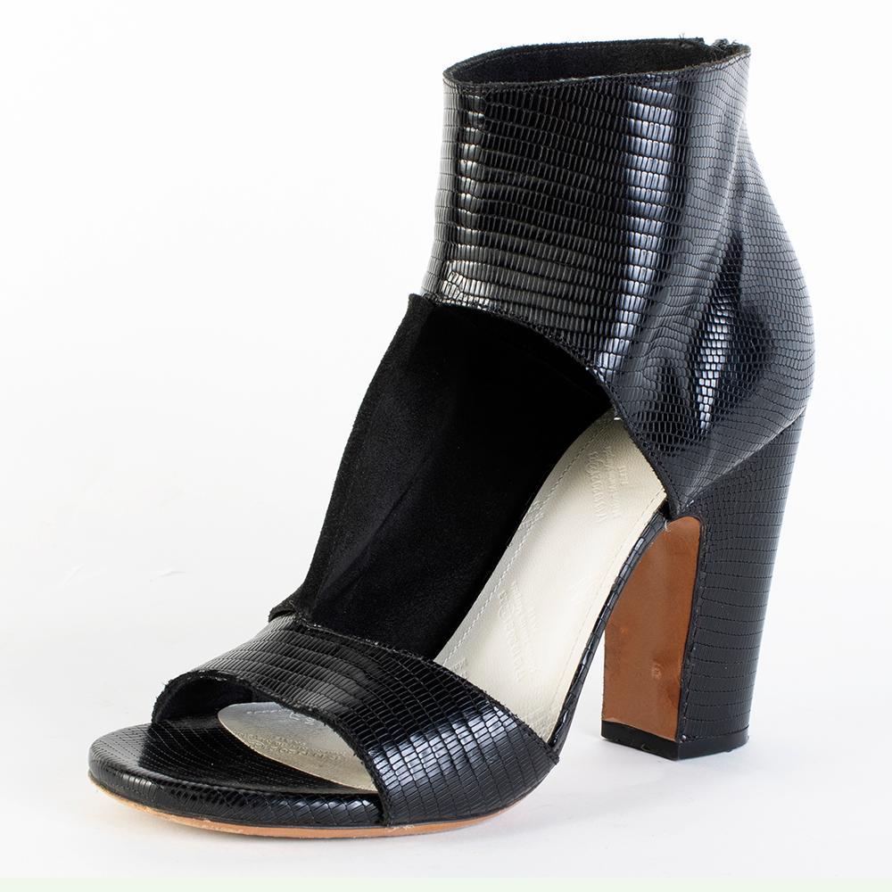 Maison Martin Margie Size 39 Reptile Print Heel