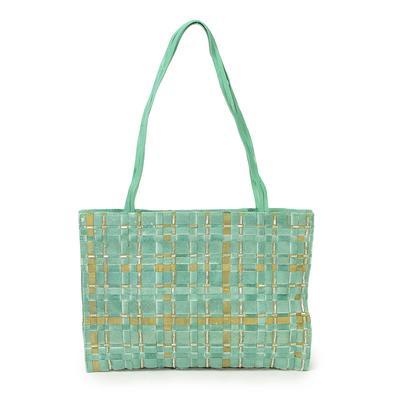 Bottega Veneta Pnoy Silk Shoulder Bag