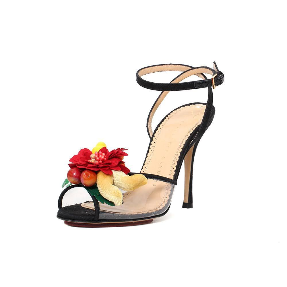 Charlotte Olympia Size 36 Fruit Heel