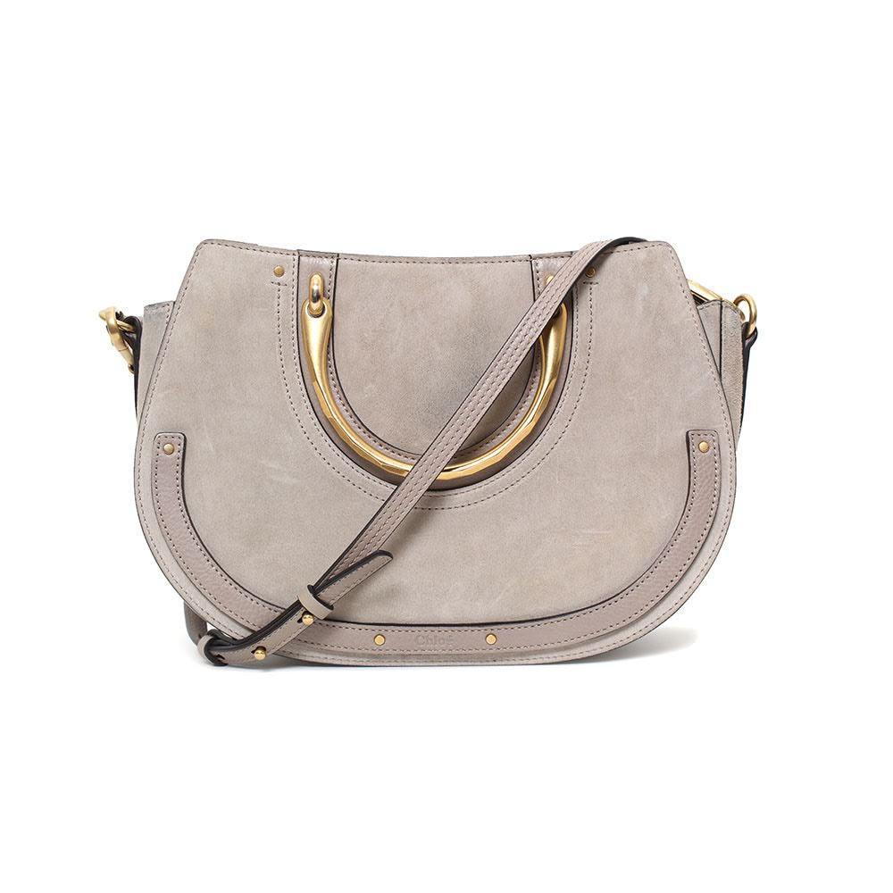 Chloe Suede Taupe Bag