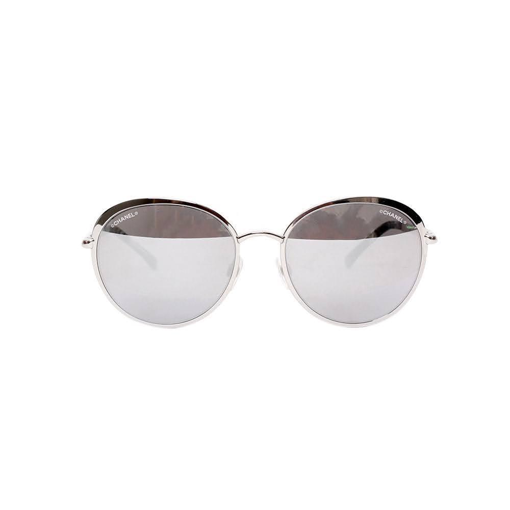 Chanel Round Mirror Glasses